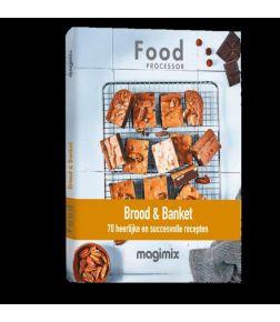 Brood en banket boek voor foodprocessor Magimix