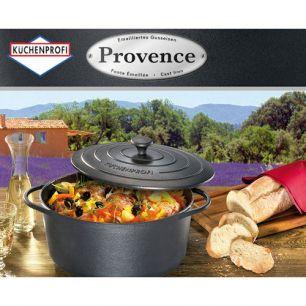 Braadpan zwart ovaal Provence Küchenprofi