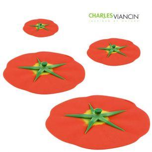 Deksel siliconen tomaat