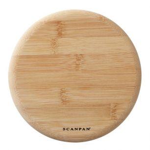 Pannenonderzetter magnetisch bamboe 18 cm