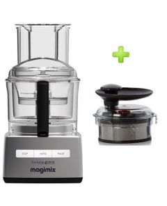 Magimix 4200 XL  (mat chroom) met gratis smoothiemix kit