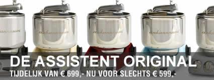 Assistant Original keukenmachine aanbieding Brinkmans Kookwinkel