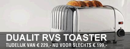 Dualit broodrooster - Brinkmans Kookwinkel